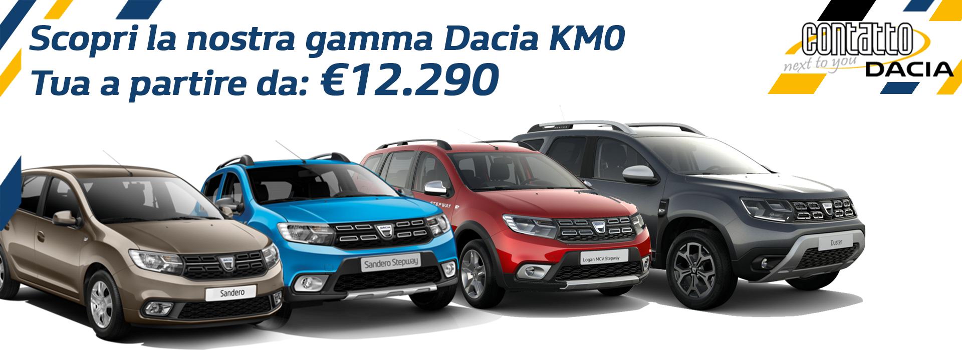 Home page -KM0 Dacia